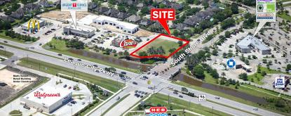 League City Pad Site Aerial